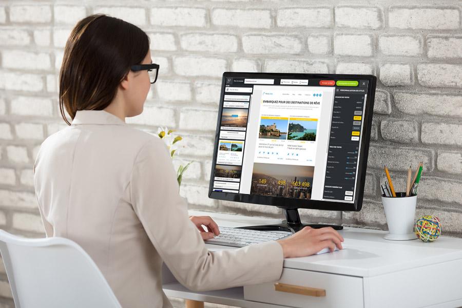 Welkom Editor, l'Email builder simple et responsive